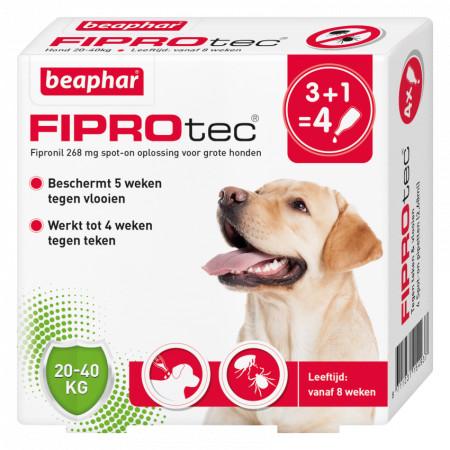 Beaphar Fiprotec Spot-On voor honden van 20 tot 40 kg