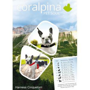 Coralpina Cortina hondentuig zwart