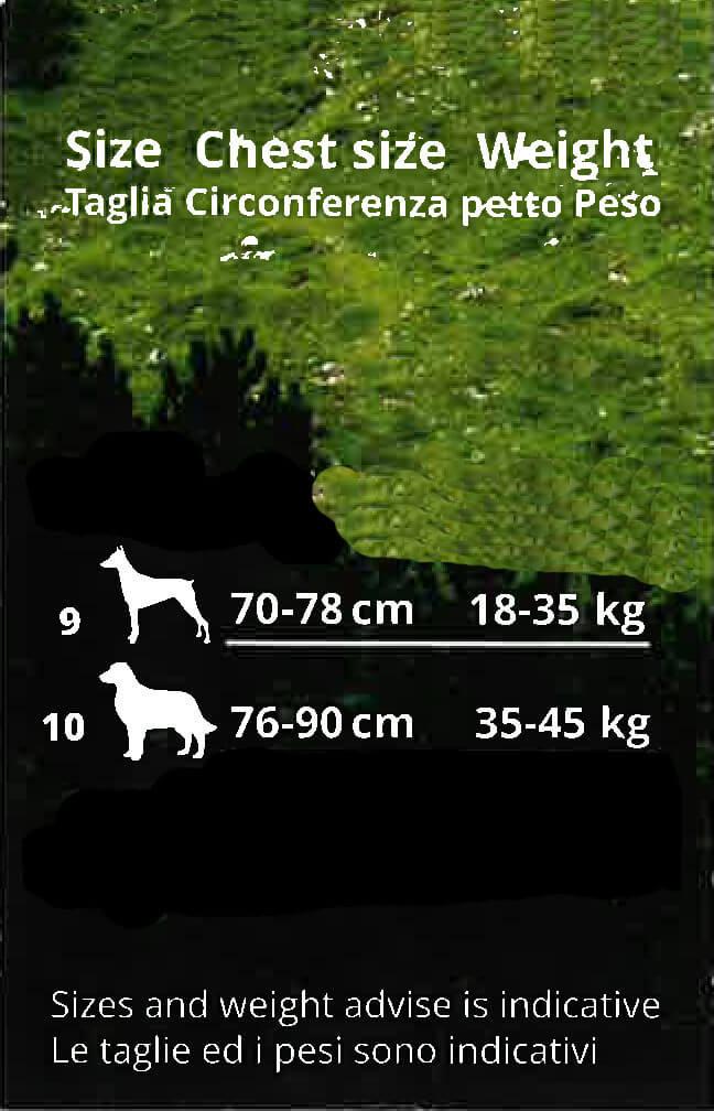 Coralpina Fiames hondentuig rood