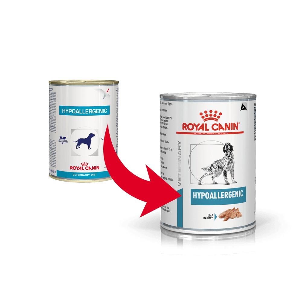 Royal Canin Veterinary Hypoallergenic 400 gram blik hondenvoer