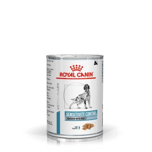 Royal Canin Veterinary Sensitivity Control kip & rijst hondenvoer blik