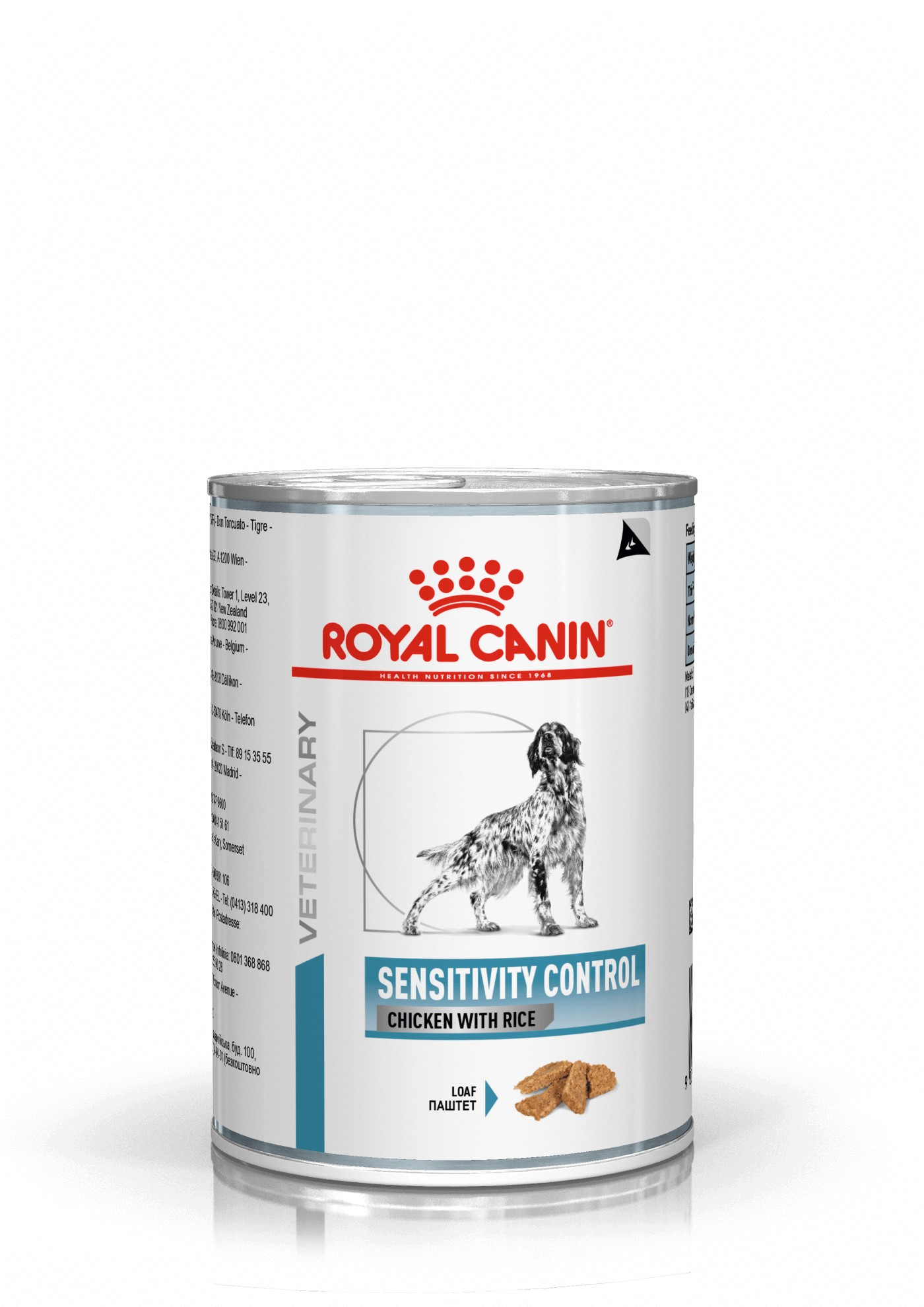 Royal Canin Sensitivity Control Chicken with rice blik hondenvoer