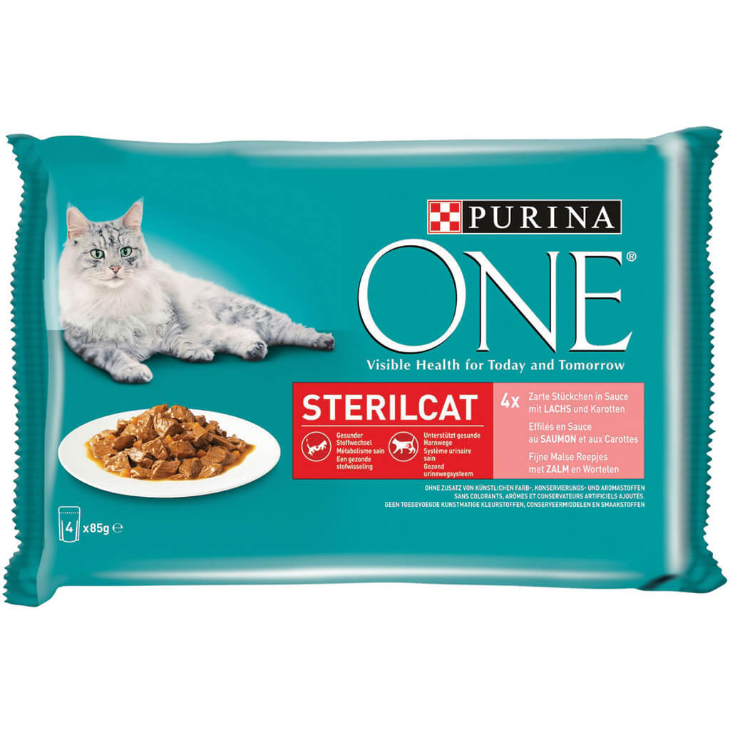 Purina One Sterilcat Pouch 85g kattenvoer