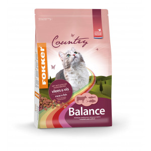 Fokker Country Balance Meat & Fish kattenvoer