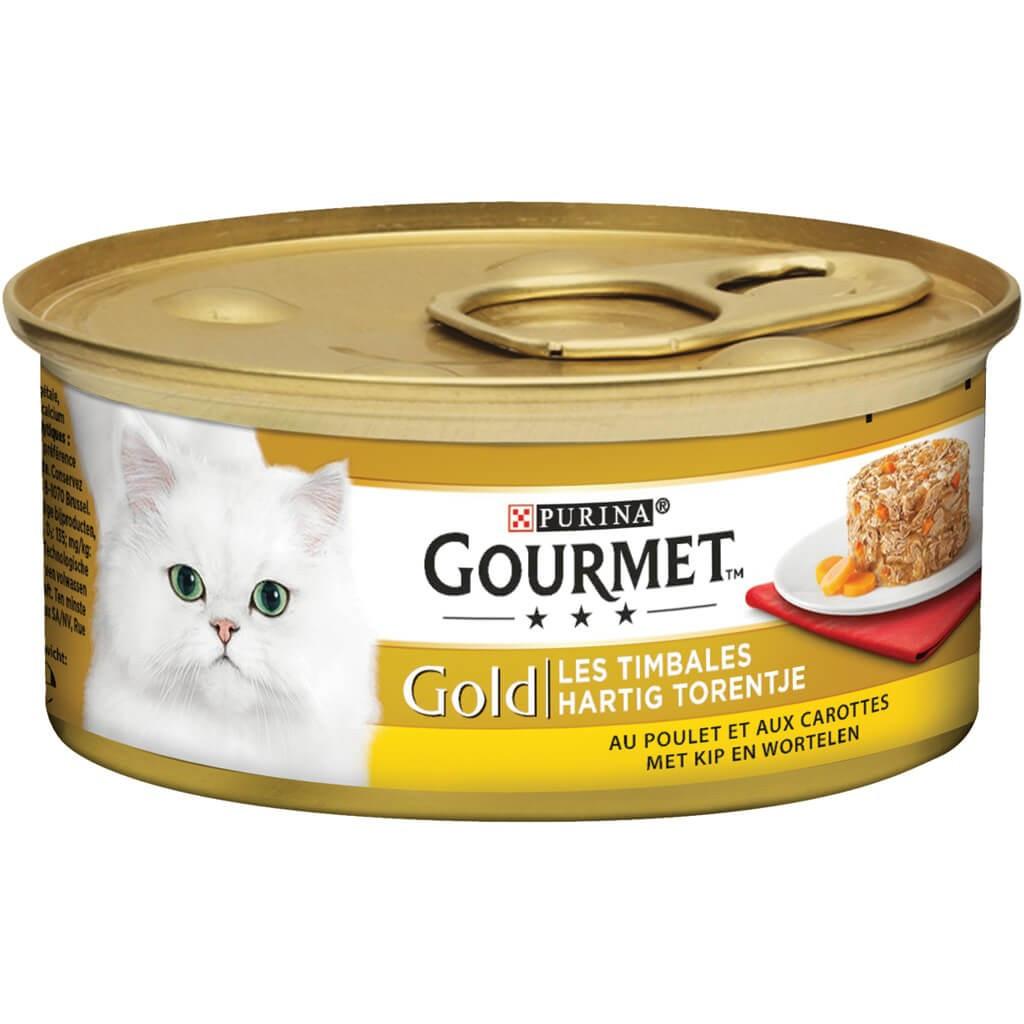 Gourmet Gold Hartig Torentje Combipack kattenvoer