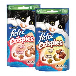 Felix Crispies Snacks combipack kattensnoep Per 2