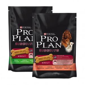 Pro Plan Biscuits Combipack hondenkoekjes 8 x 400 gram