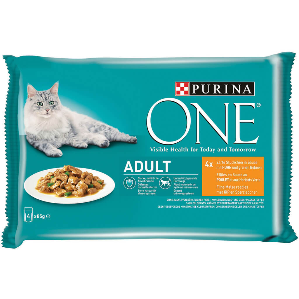 Purina One Sterilcat Kip en Tarwe kattenvoer