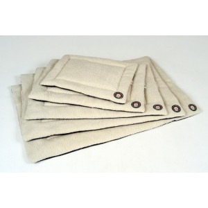 Doggybag Wool Blanket Beige wit Small