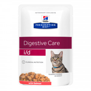 Hill's Prescription Diet I/D Pouch Zalm kattenvoer