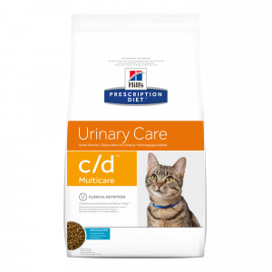 Hill's Prescription C/D Multicare Urinary Care kattenvoer met vis
