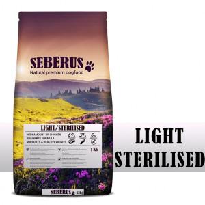 Seberus Light/Sterilised - natuurlijk graanvrij hondenvoer 12 kg