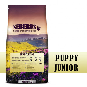 Seberus Puppy / Junior hondenvoer
