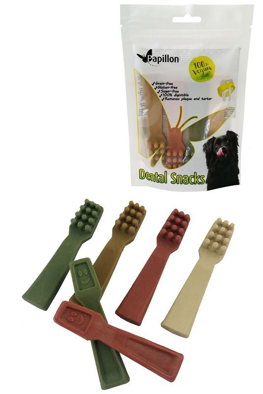 Dental Hondensnack Tandenborstel maat M 4st/100gr