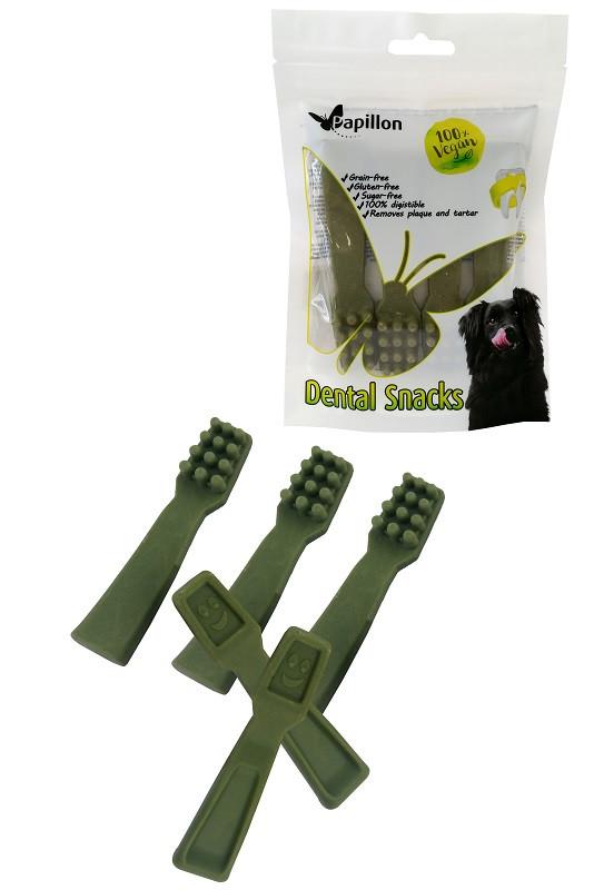 Dental Hondensnack Tandenborstel met Mint maat M 4st/100gr