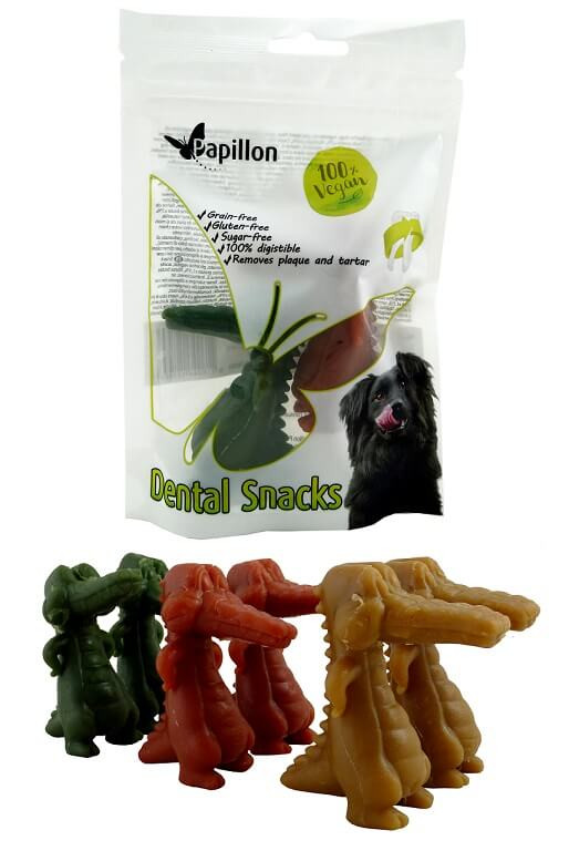 Dental snack krokodillen M (6cm)