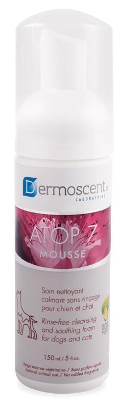 Dermoscent Atop 7 Mousse voor hond en kat