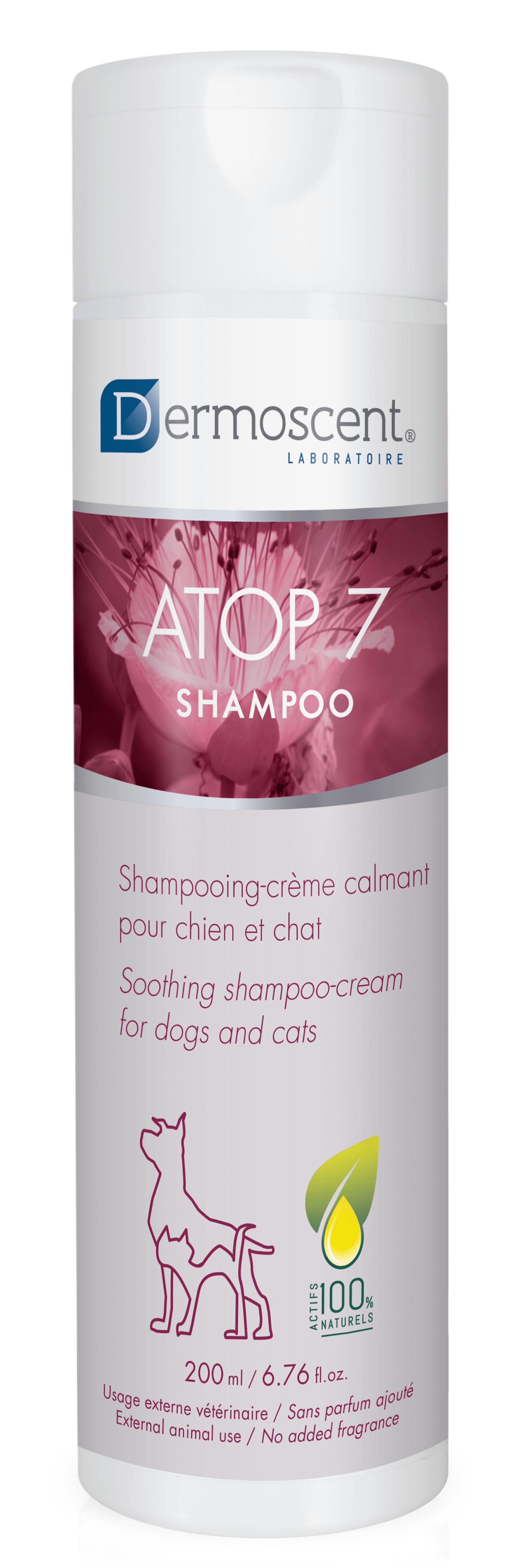 Dermoscent Atop 7 Shampoo voor hond en kat