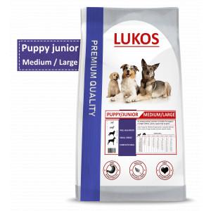 Lukos Puppy en Junior Medium & Large Breeds