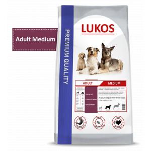 Lukos Adult Medium hondenvoer 12 kg