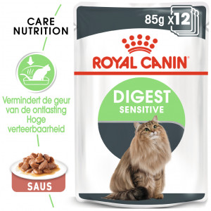 Royal Canin Digest Sensitive nat kattenvoer x12