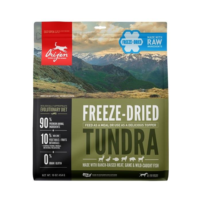 Orijen Freeze-Dried Tundra hondenvoer