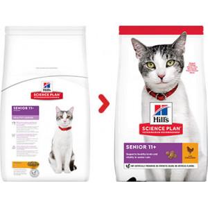 Hill's Senior 11+ Healthy Ageing kattenvoer