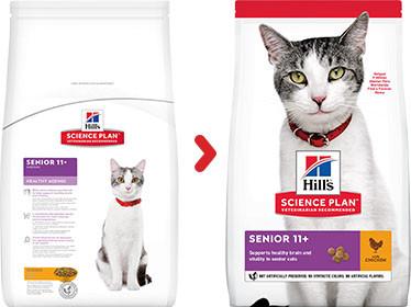 Hill's Senior 11+ kip kattenvoer