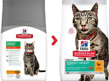 Hill's Adult Perfect Weight kip kattenvoer