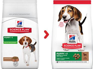 Hill's Puppy Medium lam & rijst hondenvoer