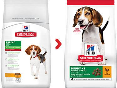 Hill's Puppy Medium met kip hondenvoer