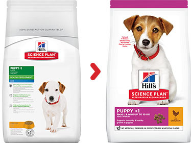 Hill's Puppy Small & Mini Kip hondenvoer