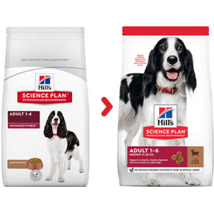 Hill's Adult Medium lam & rijst hondenvoer