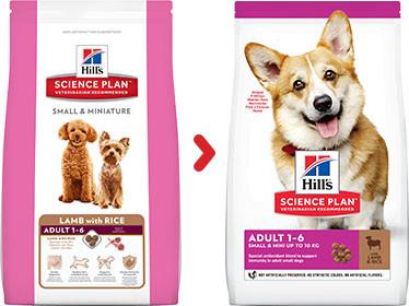 Hill's Adult Small & Mini lam & rijst hondenvoer