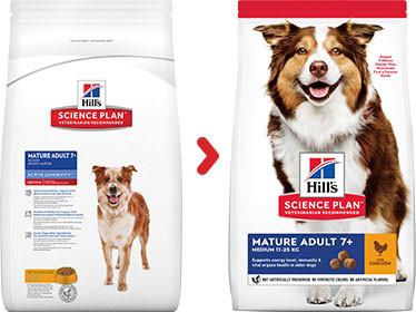Hill's Mature Adult Medium kip hondenvoer