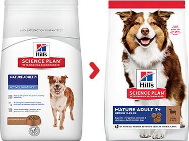 Hill's Mature/Senior Lam & Rijst Hondenvoer