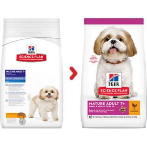 Hill's Mature/Adult 7+ Mini Kip hondenvoer