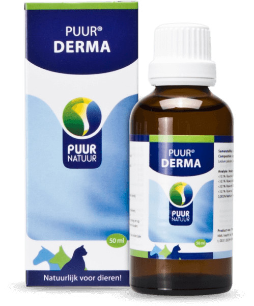 Puur Derma voor hond, kat en paard