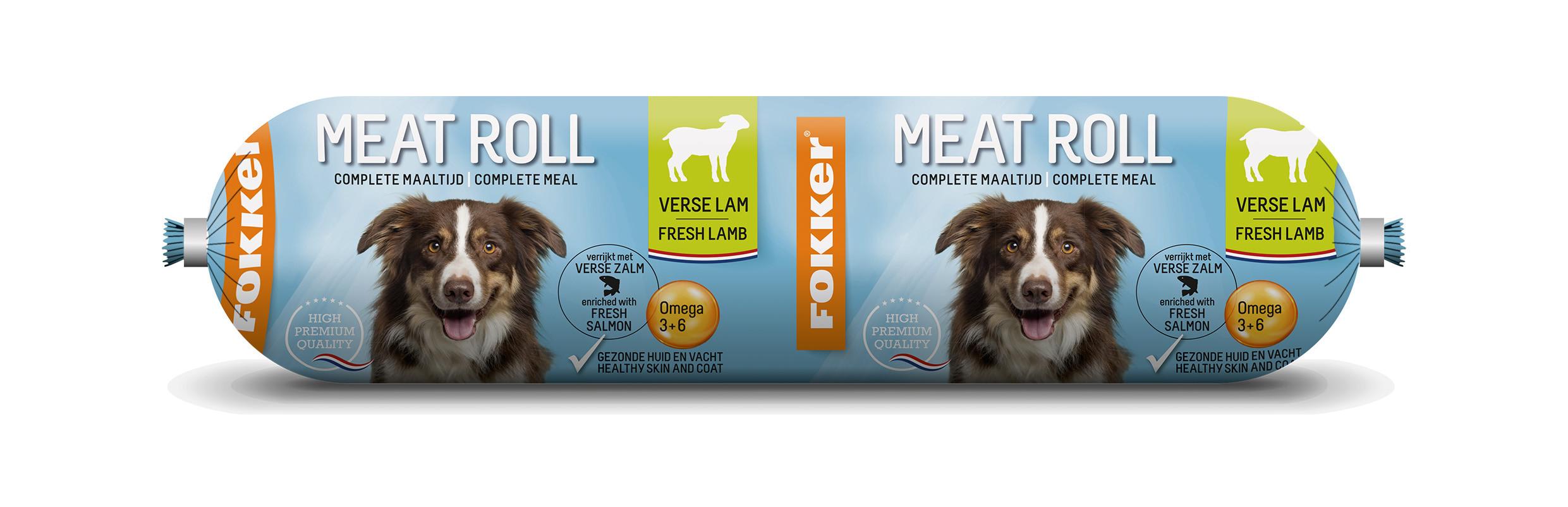 Fokker Dog Meat Roll verse Lam met Zalm