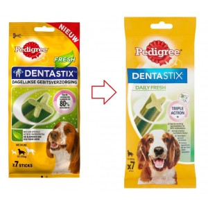 Pedigree Dentastix Fresh Medium hondensnack 10-25 kg
