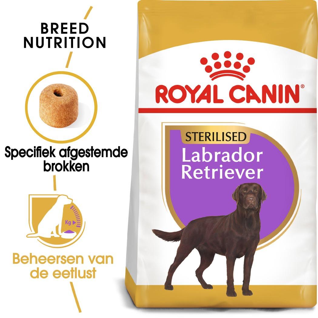 Royal Canin Sterilised Adult Labrador Retriever hondenvoer