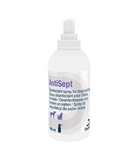 AntiSept Desinfectie Spray voor honden en katten