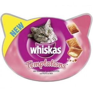 Whiskas Temptations met Zeevruchten