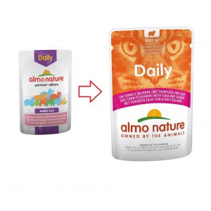 Almo Nature Daily Tonijn & Zalm 70 gram