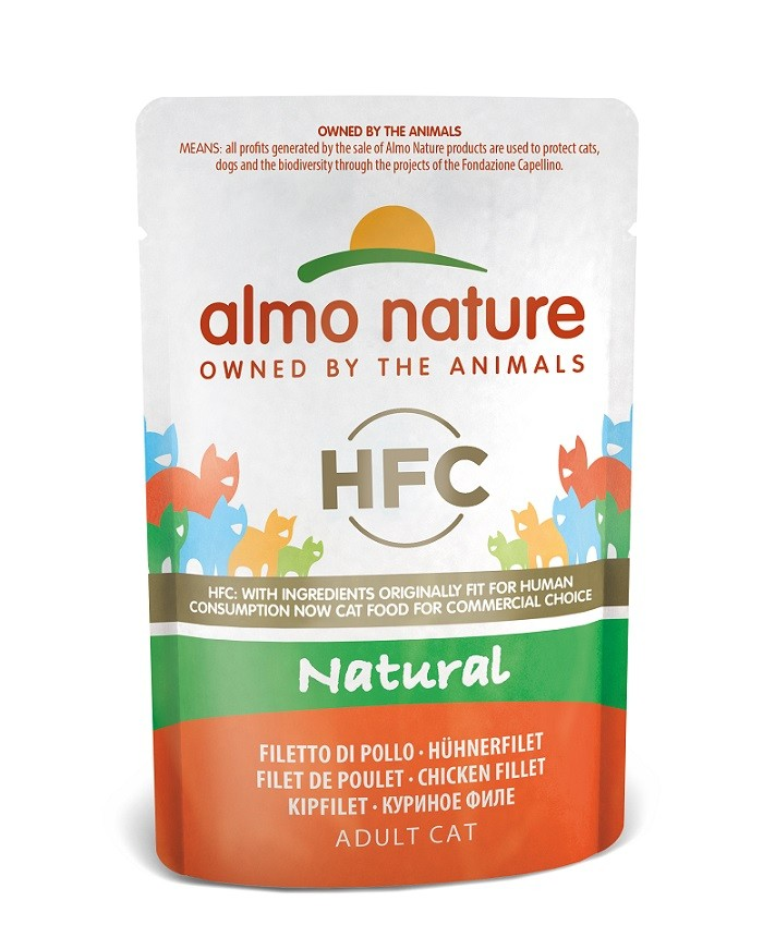 Almo Nature HFC Natural Kipfilet 55 gr