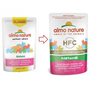 Almo Nature HFC Natural Kip & Zalm 55 gr