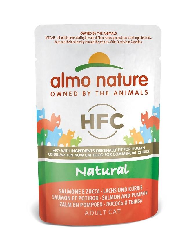 Almo Nature HFC Natural Zalm & Pompoen 55 gram