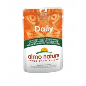 Afbeelding van Daily Kalfsvlees & Lamsvlees 70 gram Per 60 Almo Nature