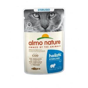 Almo Nature Sterilised Kabeljauw 70 gram Per 30