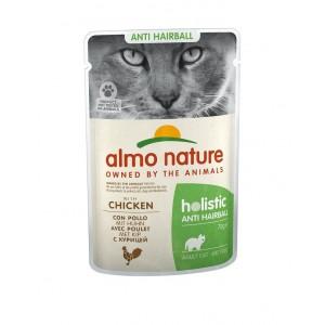 Afbeelding van Almo Nature Anti Hairball Kip 70 gram Per 60